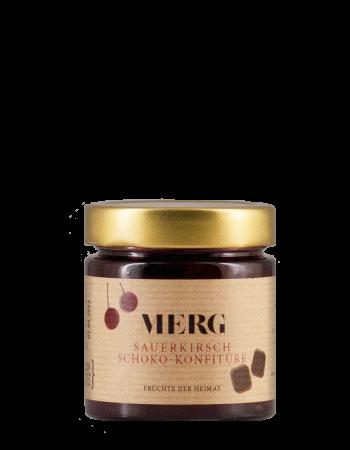Sauerkirsch Schoko Konfitüre
